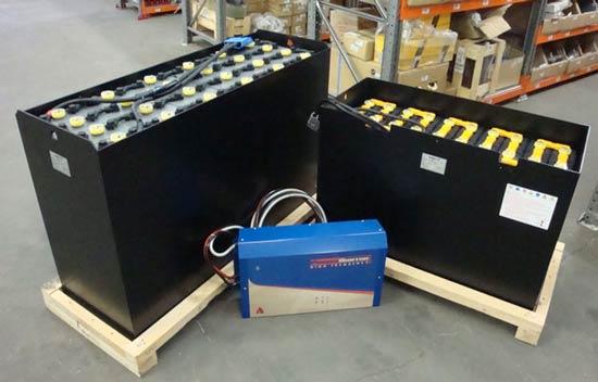 зарядка тяговых акб электропогрузчиков