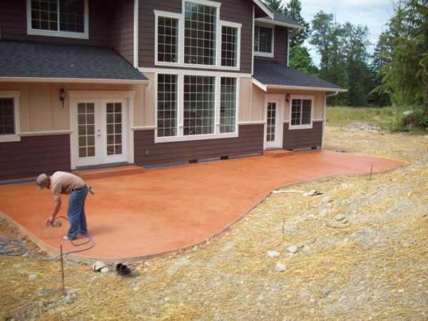 Виды красок для бетона для наружных работ керамзит и бетон