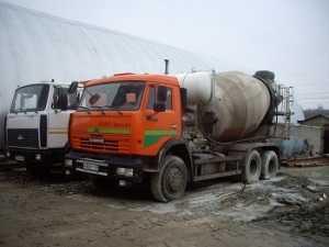 Миксера для бетона замена цементного раствора