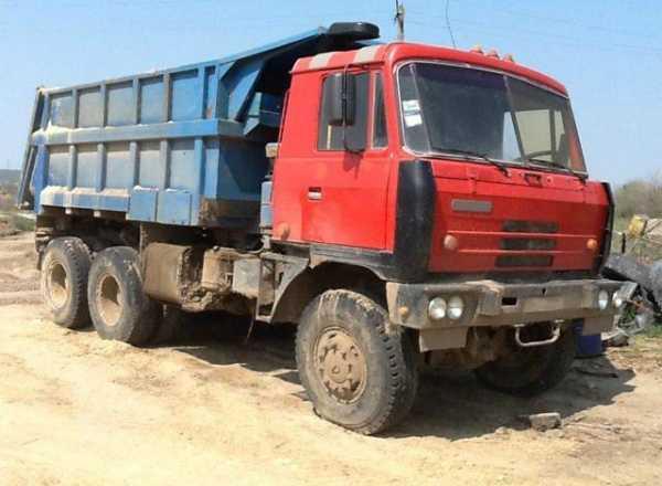 грузовик татра 815 технические характеристики самосвала